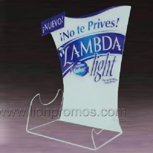 Cheap Promotional Gift Acrylic Restaurant Menu Holder pictures & photos