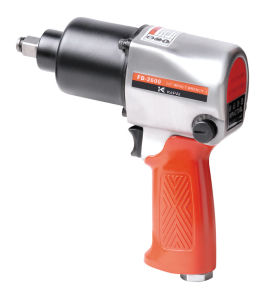 "1/2""Twin Hammer Air Impact Wrench Air Tools with Handle Exhaust 680nm"