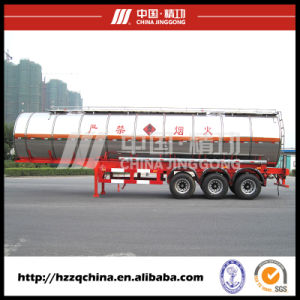 Rated Loading Mass 30000kgs Chemical Tank Trailer (HZZ9406GHY) for Sale