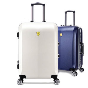 ABS PC Aluminum Rolling Trolley Case