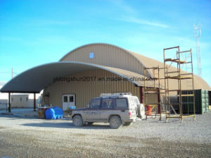 Arch Steel Car Sheds Panels Roll Forming Machine pictures & photos