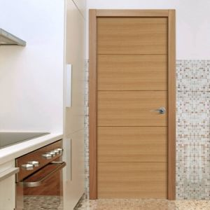 Oak Veneer Solid Core Interior Doors pictures & photos