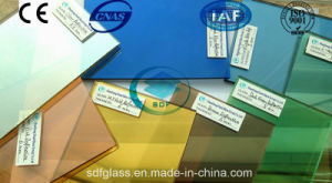 Reflective Glass with CE, ISO (4mm to 10mm Bronze Dark blue Ford blue Dark green Pink Grey)