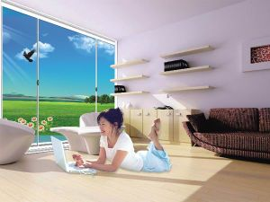 Max View Thinner Frames Double Glass Aluminium Doors pictures & photos