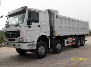 Sinotruk HOWO 8X4 Tipper Truck pictures & photos