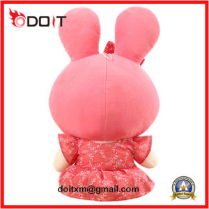 Stuffed Plush Doll Pink Skirt Rabbit Plush Doll pictures & photos