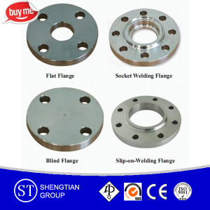 Slip-on Stainless Steel Flange Pipe pictures & photos