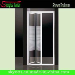 Hot Bathroom Sliding Folding Shower Door (TL-417) pictures & photos
