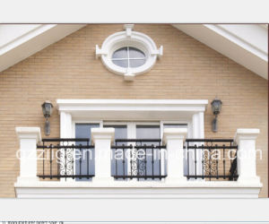China Simple Design Steel Balcony Railing China Steel Balcony