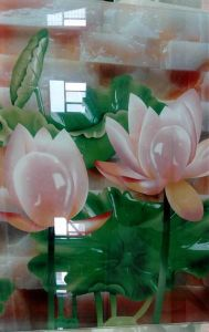 Digital Printing Tempered Laminated Building Window Glass Wall pictures & photos