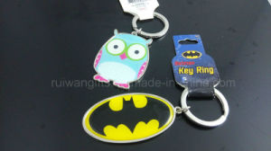 Epoxy Metal Keychain Promotion Gift pictures & photos