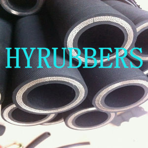Hydraulic Hose DIN En856 4sp/Wire Spiral High Pressure Hose pictures & photos