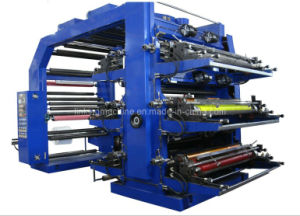 Flexo Printing Machine Film Label Printer (WS806-1000ZS) pictures & photos