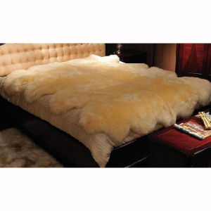 Fur Blanket Large Size Floor Carpet Australian Sheepskin Blanket pictures & photos