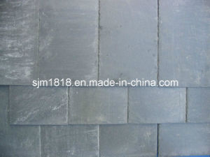 Chipped Edge Grey Roofing Slate Without Holes