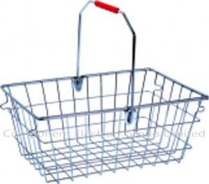Shopping Basket, Metal Basket pictures & photos
