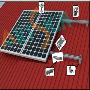 100kw PV Solar Metal Roof Mounting System/Bracket pictures & photos