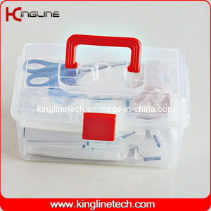 Plastic First Aid Kit (KL-9045) pictures & photos