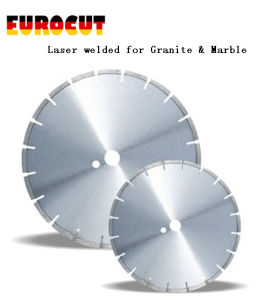 Laser Welded Diamond Saw Blade for Cutting Granite & Marble