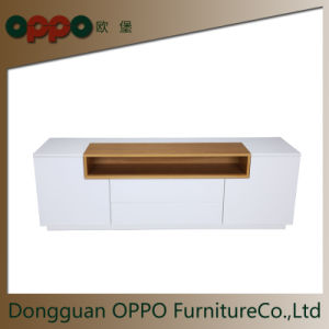 High Gloss Low Profile Tv Stand