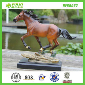 Resin Running Horse Statue as Gift or Decor (NF86032)