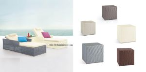 Rattan Beach Bed of Outdoor (5025)
