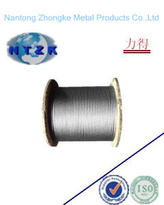 Galvanized Steel Wire Ropes with Chemical Fiber Coat pictures & photos