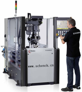 Schenck Vertical Balancing Machine for Rotors up to 30 Kg