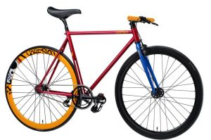 Hot-Sale Red City Bike/Sign Speed Fixed Gear Bicycle