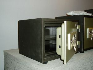 Yb-350ald Fireproof Safe for Office Use pictures & photos