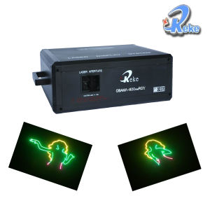 Rgy Tri-Color Animation Laser Light (OBAMA-800RGY)
