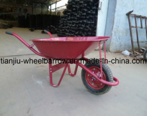 Names of Indonesia Market Hot Sale Wheelbarrow Wb6200-1 pictures & photos