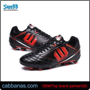 China Wide Feet Style Soccer Cleats Sport Shoses with TPU Outsole ... 2ec11d0ef072