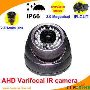 Weatherproof IR Varifocal Dome 2.0 Megapixel Ahd Camera pictures & photos