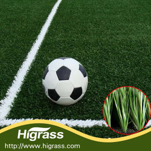 50mm UV Resistant Football Artificial Turf Certified by Labosport pictures & photos