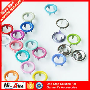 OEM Custom Made Top Quality Various Colors Metal Button pictures & photos