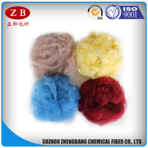 Pet Bottles Recycled Synthetic Fibers Polyester Staple Fiber