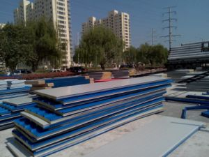 Mineral Wool Fire Resistant Panel for Fast Construction Material pictures & photos