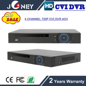 RS485 USB Interface 4 Channel HD Cvi DVR 720p with 2 SATA HDD pictures & photos