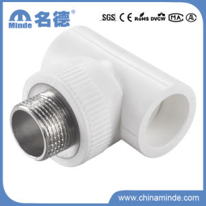 PPR Male Tee Type E Fitting for Building Materials pictures & photos