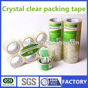Chinese Factory BOPP Crystal Clear Packing Tape