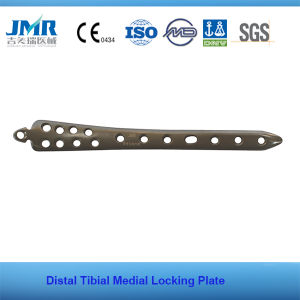 Distal Tibial Medial Locking Plate Orthopedic Implant pictures & photos