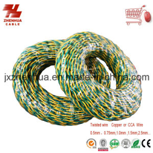 Electrical Wiring Twisted Rvs Wire Copper Core Cable pictures & photos