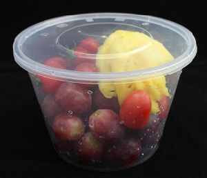 Microwaveable PP Plastic Food Containers with Lid pictures & photos