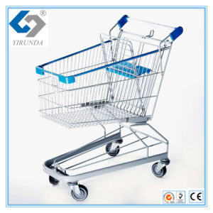 100L Supermarket Shopping Trolleys with German Style pictures & photos