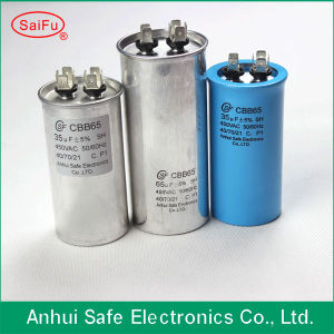 High Quality Cbb65 Capacitor in Air Condition Compressor 40UF pictures & photos