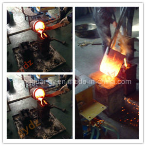 Energy Saving Vertical Type Portable Induction Furnace Melting Systems pictures & photos