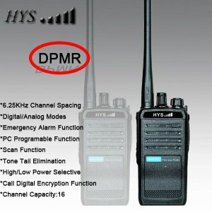 Tc-818dp Digital Ham Radio VHF or UHF Dpmr Digital Two Way Radio Hys
