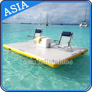Inflatable Air Dock; Inflatable Water Floating Island pictures & photos