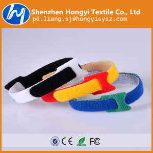 Customized Adjustable Self-Locking Hook & Loop Cable Tie pictures & photos